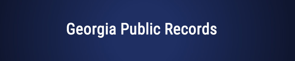 Georgia Public Records & Background Checks