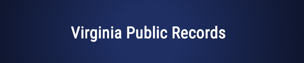 Virginia Public Records