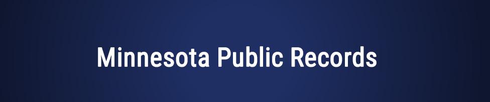 Minnesota Public Records