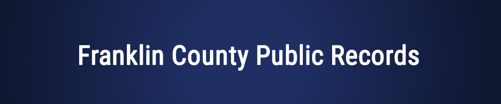 franklin county public records