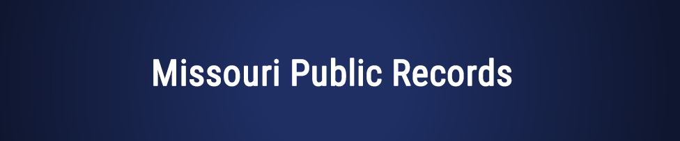 missouri public records