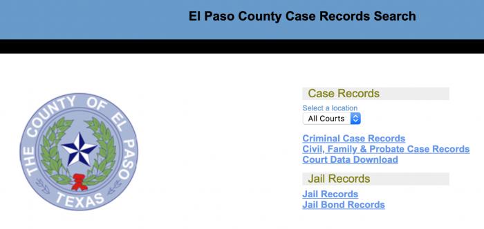Find All El Paso Public Records (2019 Guide)