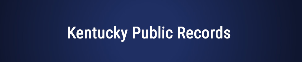 kentucky public records