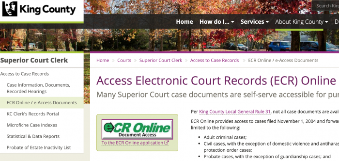 How To Find All King County Public Records (2019 Guide)