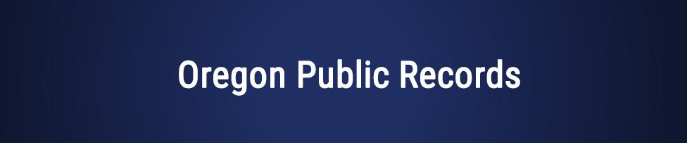 Free oregon public records sex offenders