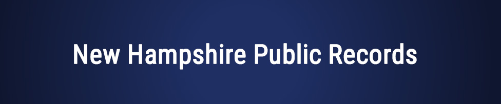 new hampshire public records